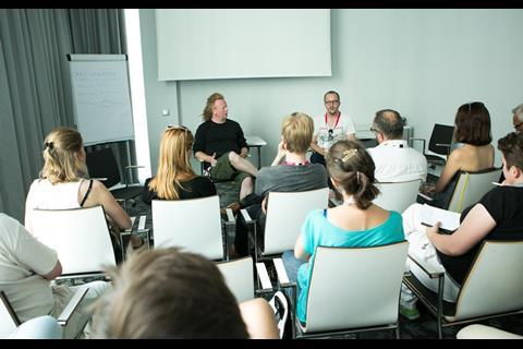 Polish Days - pitching training for producers with David Pope and Gavin Humphries fot.K.Szwarc